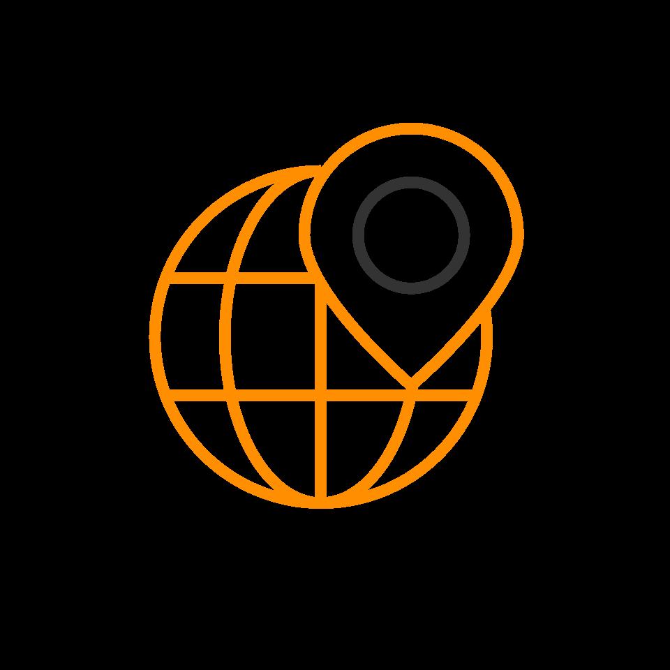 orange and black icon