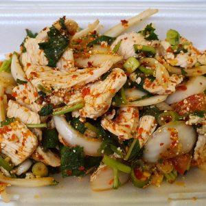 spicy chicken salad